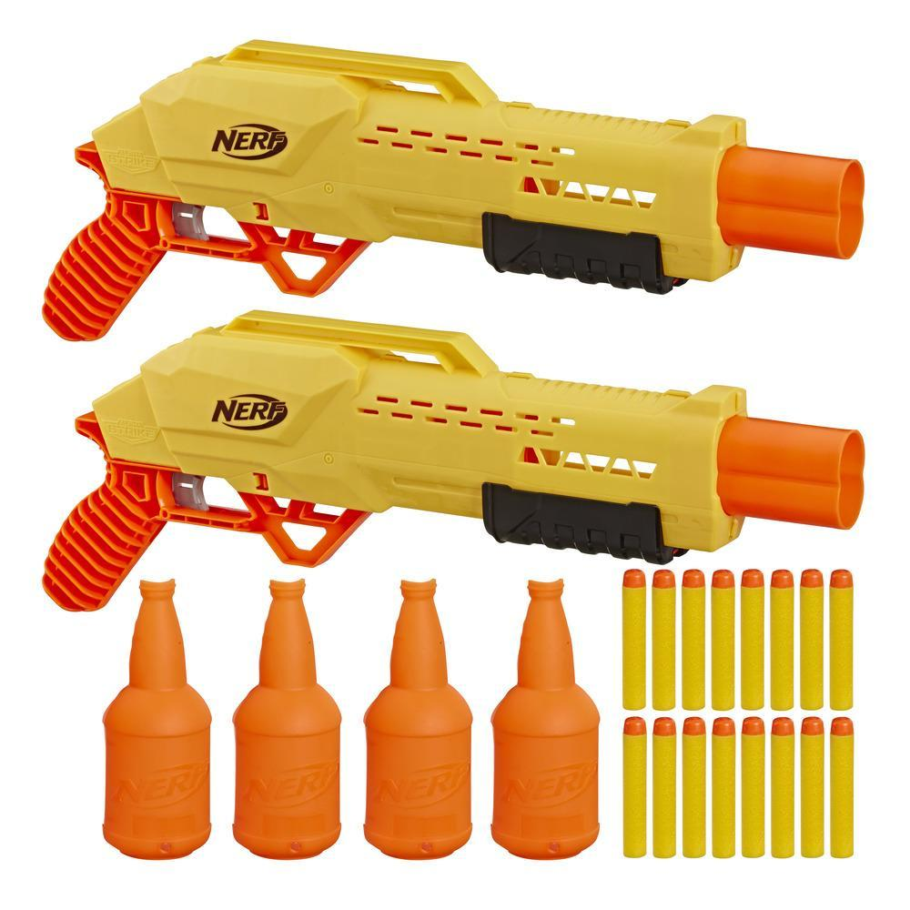 Ensemble de cibles pour 2 Tiger DB-2 Nerf Alpha Strike