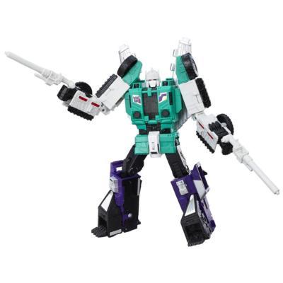 Transformers Generations Titans Return - Six Shot et Decepticon Revolver