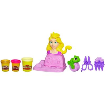 PLAY-DOH Disney Princess - ensemble Coiffures de Raiponce