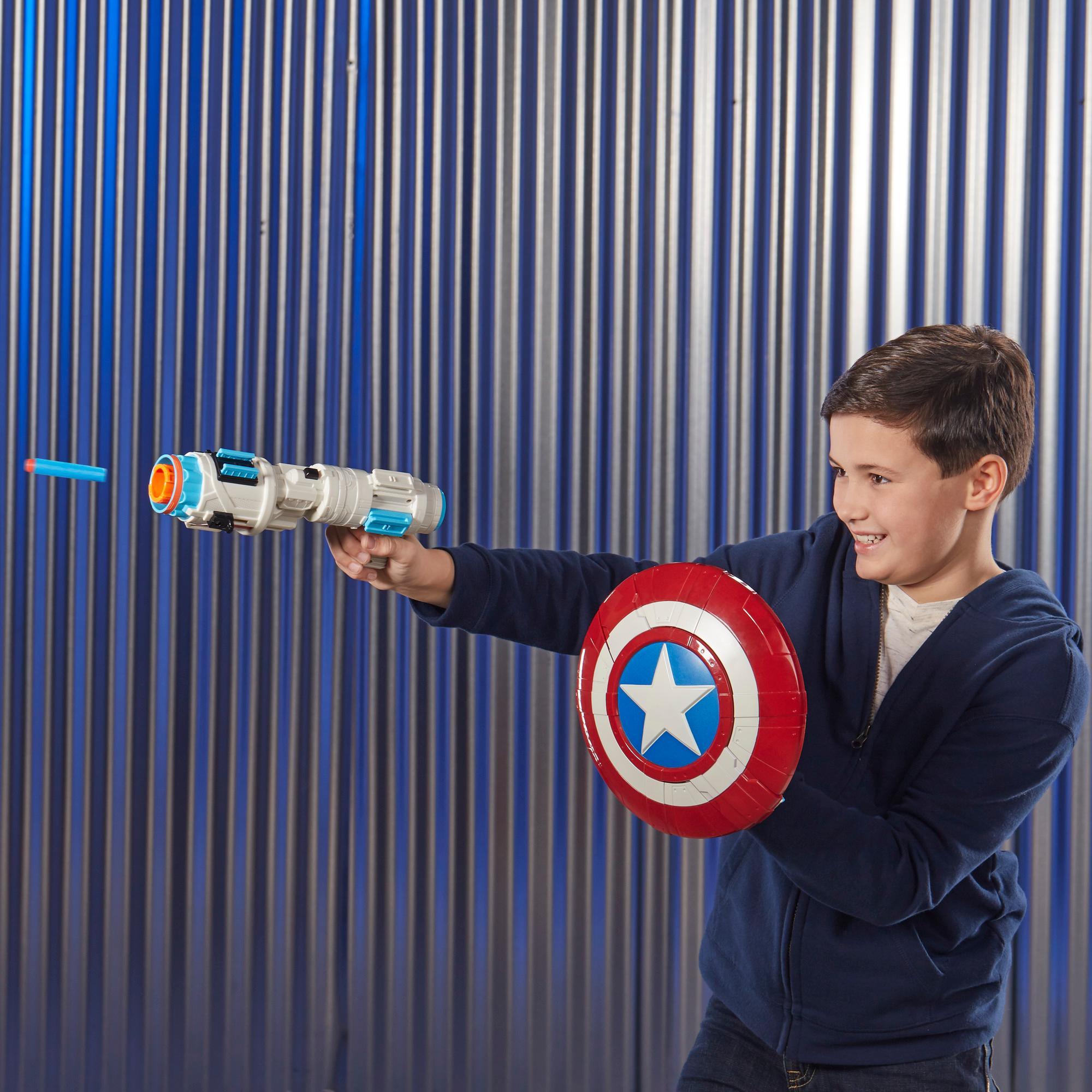 Marvel Avengers : Phase finale - Nerf Assembler Gear Captain America