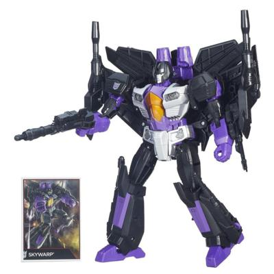 Transformers Generations - Figurine Skywarp de classe Leader