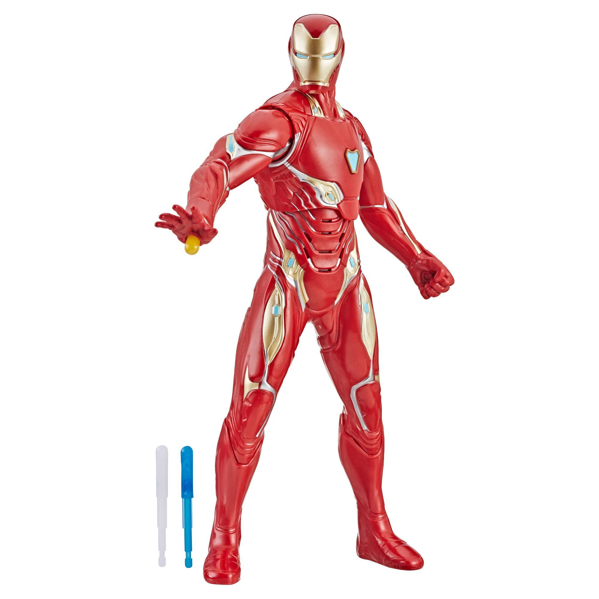 Marvel Avengers Avengers : Phase finale - Figurine Iron Man Tir de répulseur de 33 cm