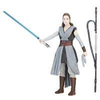 Star Wars - Figurine Force Link Rey (Entraînement Jedi)