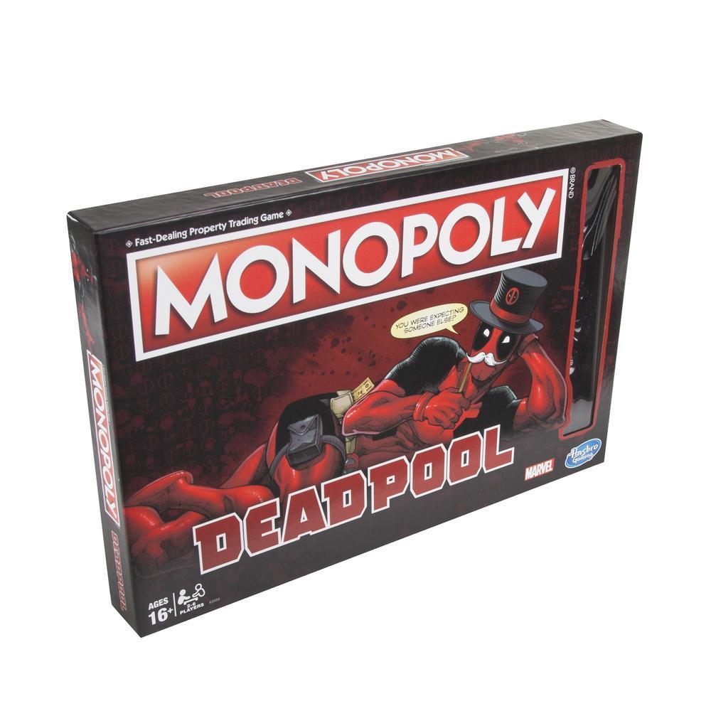 Jeu Monopoly : Édition Marvel Deadpool