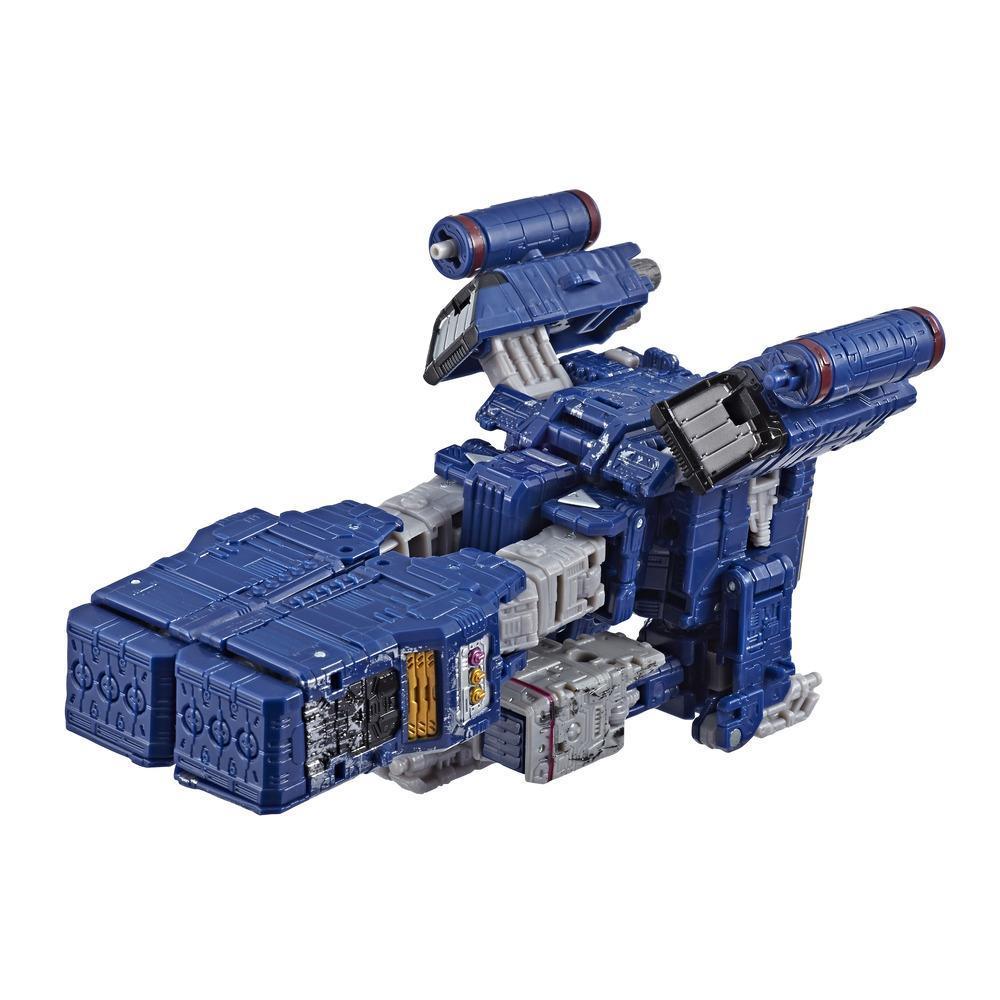 Jouets Transformers Generations War for Cybertron, figurine voyageur Soundwave WFC-S25, gamme Siege, pour adultes et enfants de 8 ans et plus, 17,5 cm