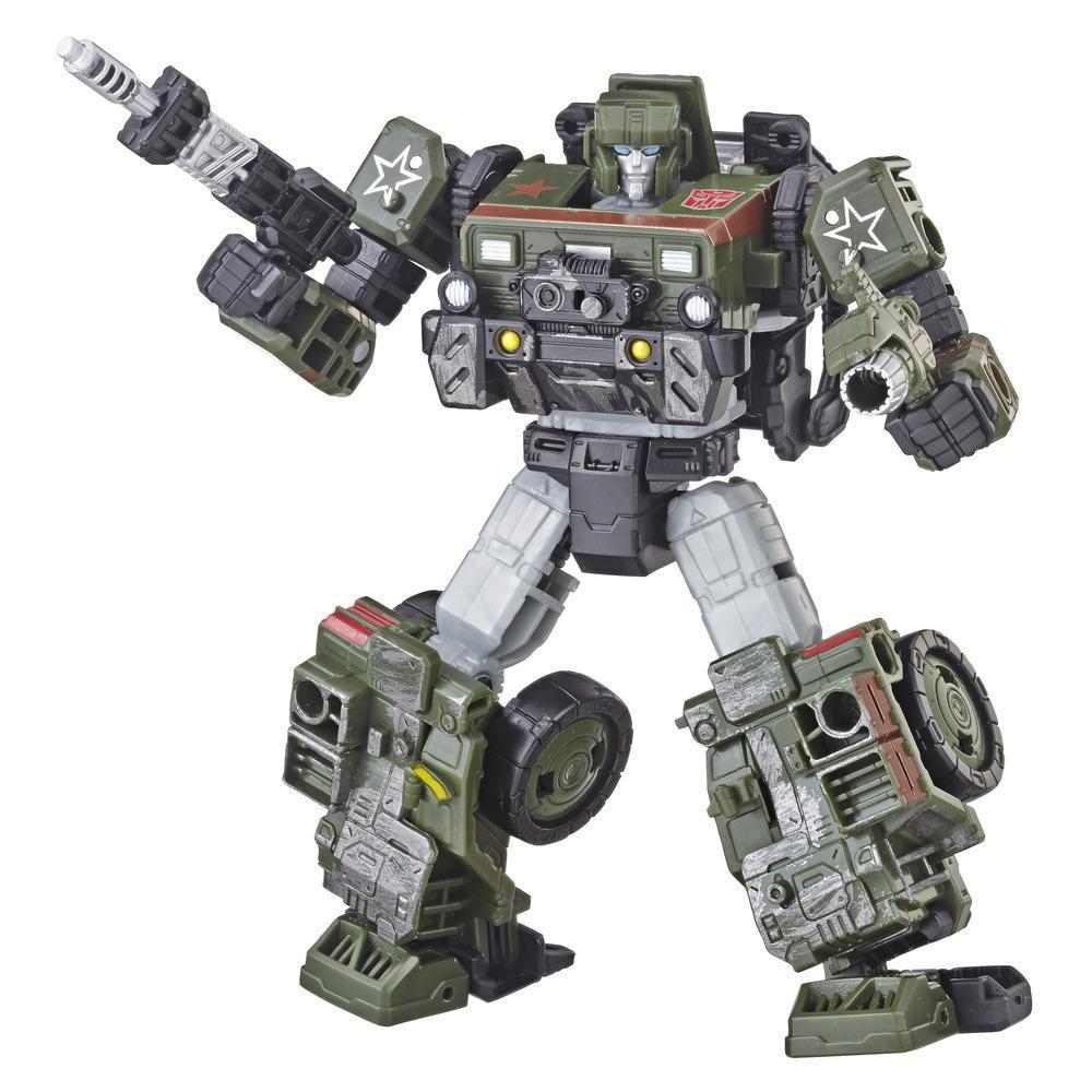 Transformers Generations War for Cybertron: Siege - Figurine Autobot Hound WFC-S9 de classe de luxe