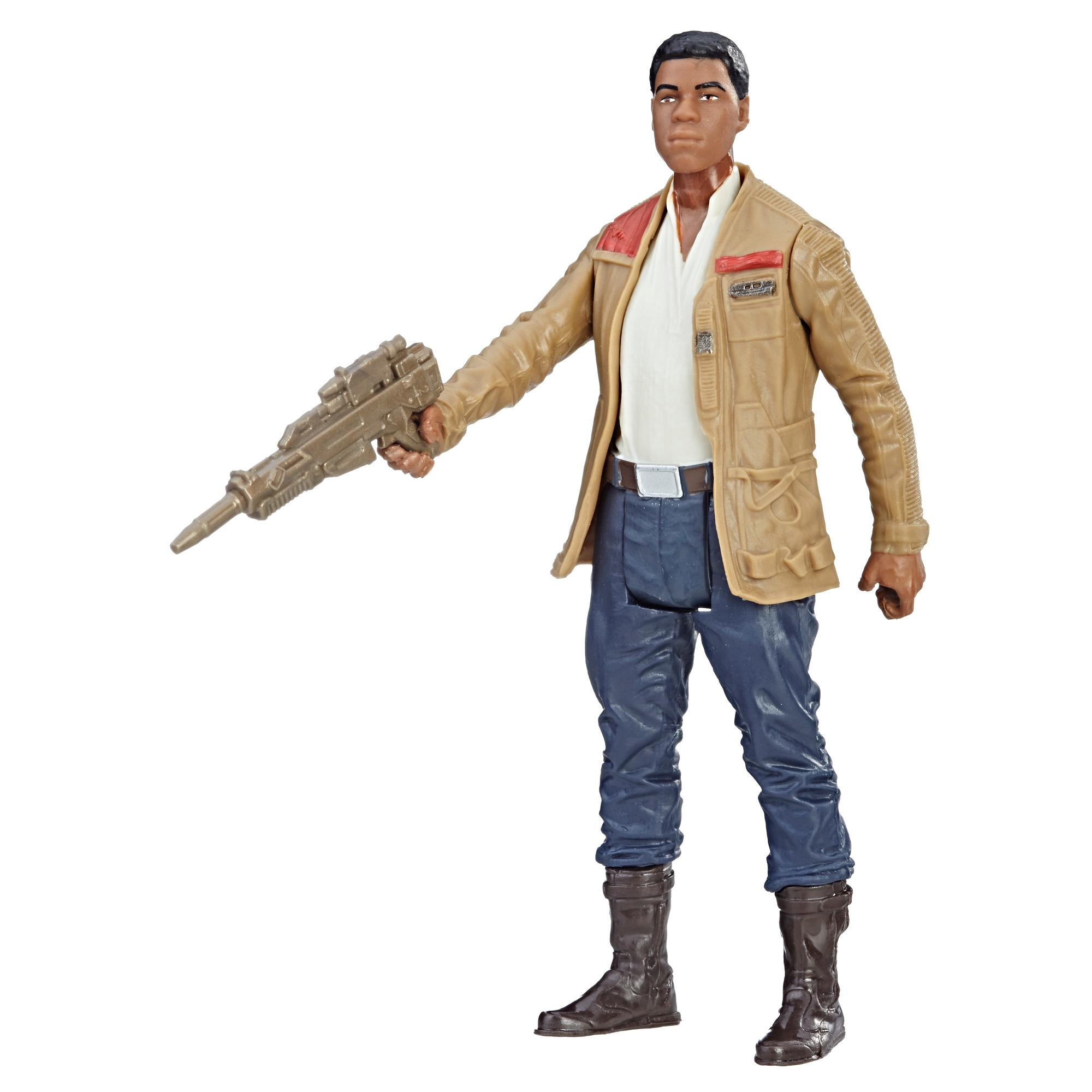 Star Wars - Figurine Force Link Finn (Combattant de la Résistance)