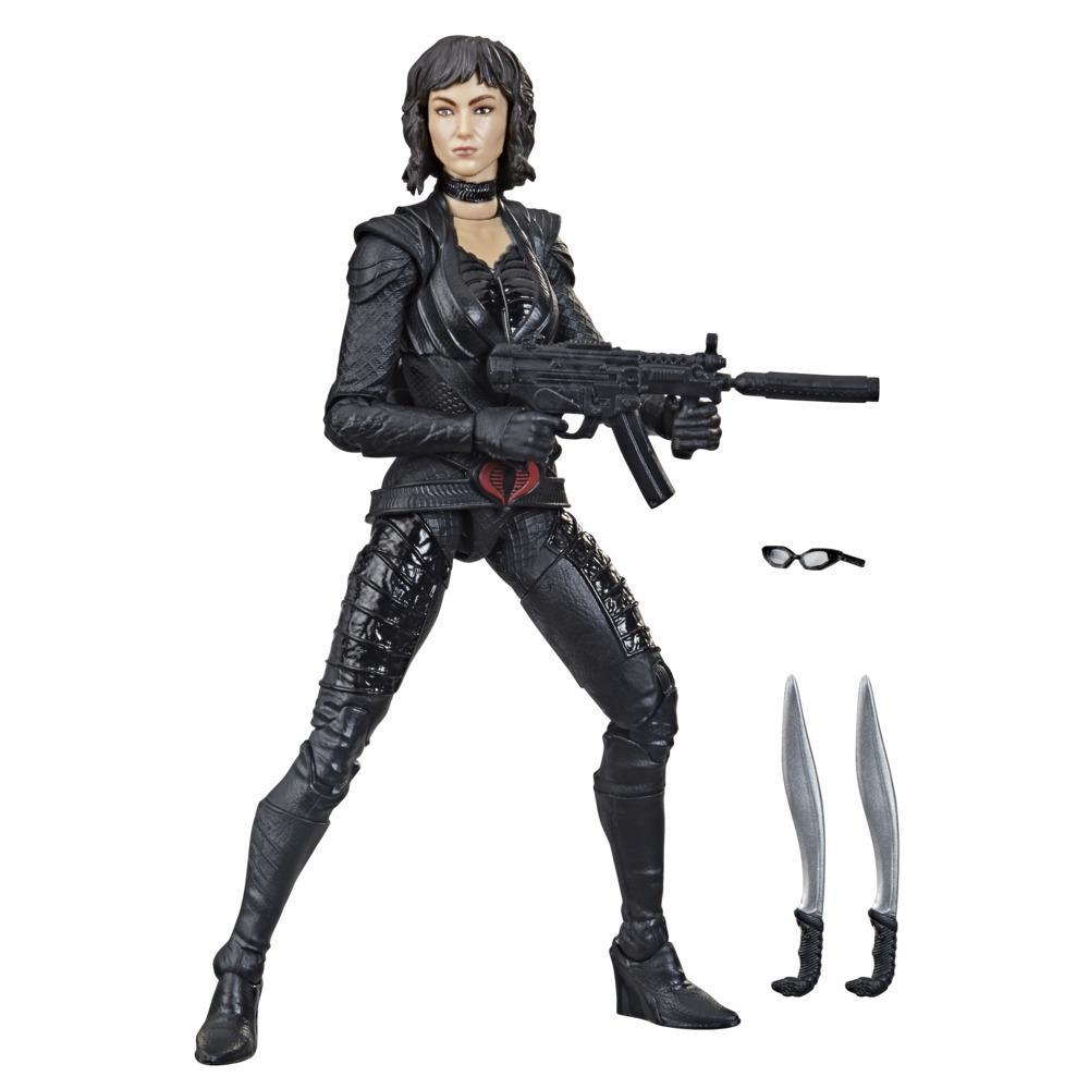 G.I. Joe Classified Series, Snake Eyes: G.I. Joe Origins, Baroness, figurine 19 premium à collectionner, emballage spécial