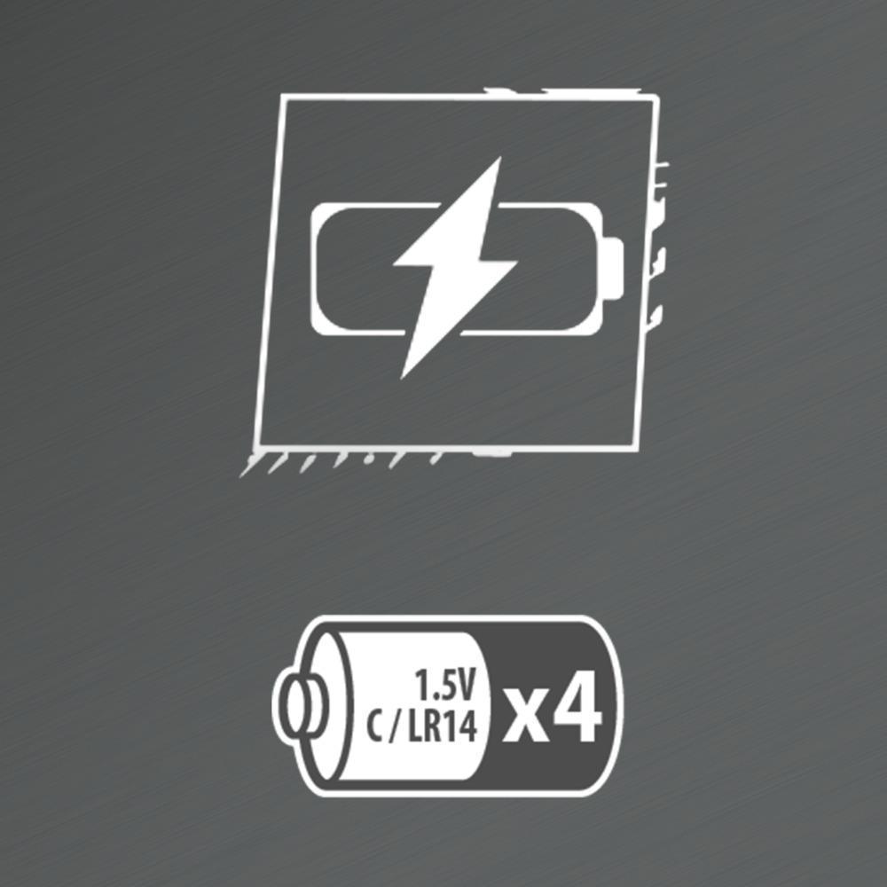 Nerf Mega - Blaster motorisé Motostryke à 10 fléchettes, 10 fléchettes Nerf Mega officielles et un chargeur 10 fléchettes, pour enfants, ados et adultes