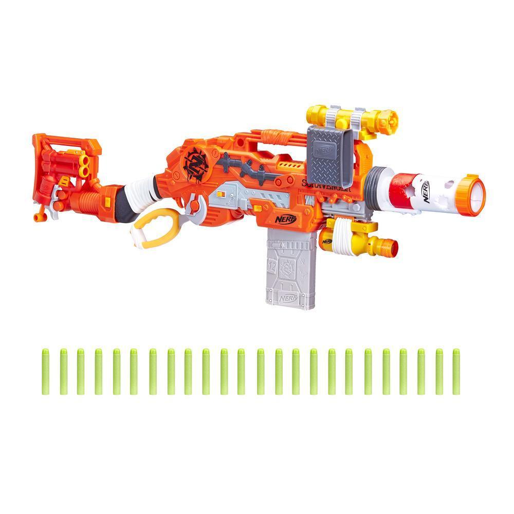 Nerf Zombie Strike - Kit de survie Scravenger