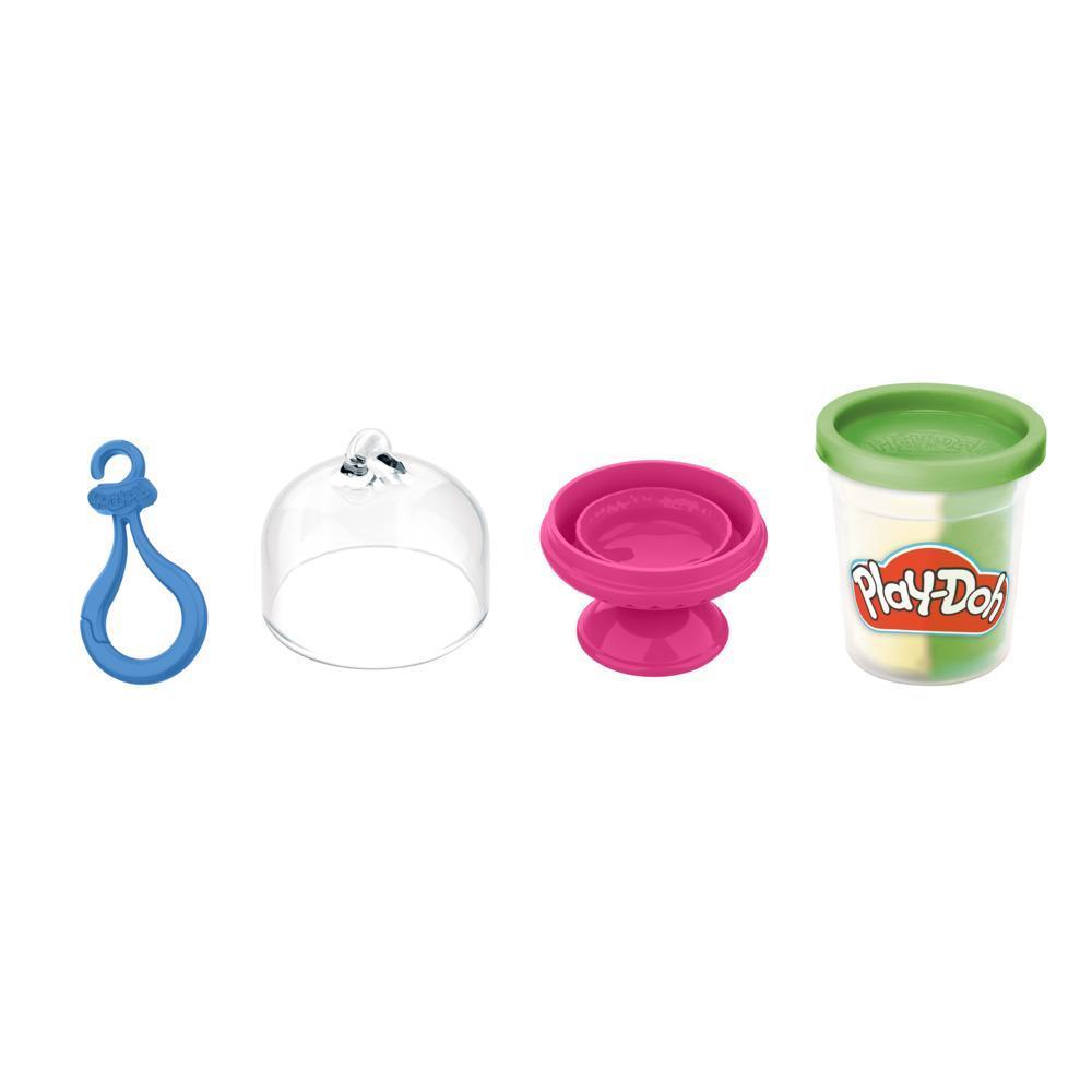 Play-Doh Kitchen Creations, macaron à créer et exposer avec attache, 1 pot de pâte bicolore, enfants, dès 3 ans