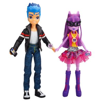 My Little Pony Equestria Girls - Duo Flash Sentry et Twilight Sparkle