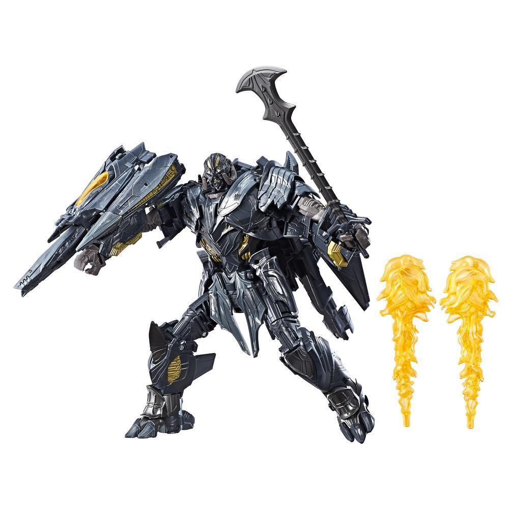 Transformers: Le dernier chevalier - Figurine Megatron de classe leader Premier Edition