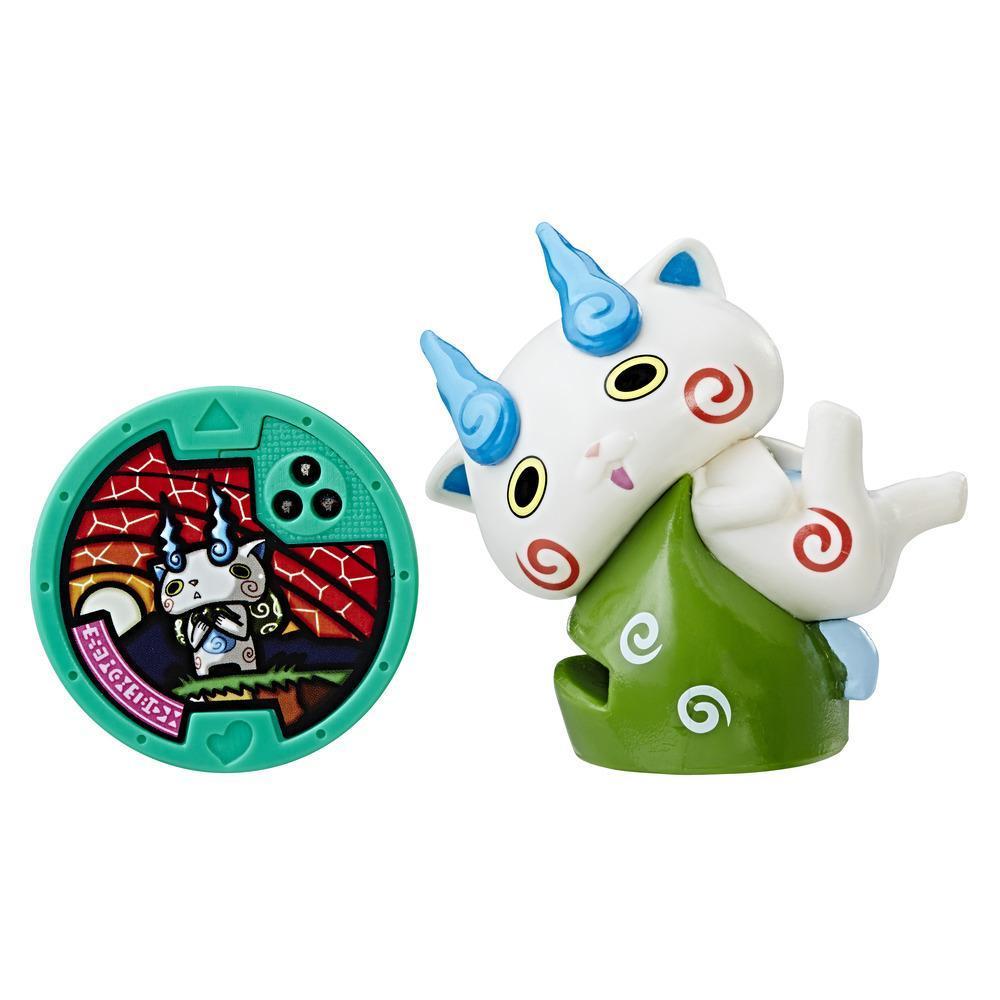 Yo-kai Watch – Figurine porte-médaille Komasan