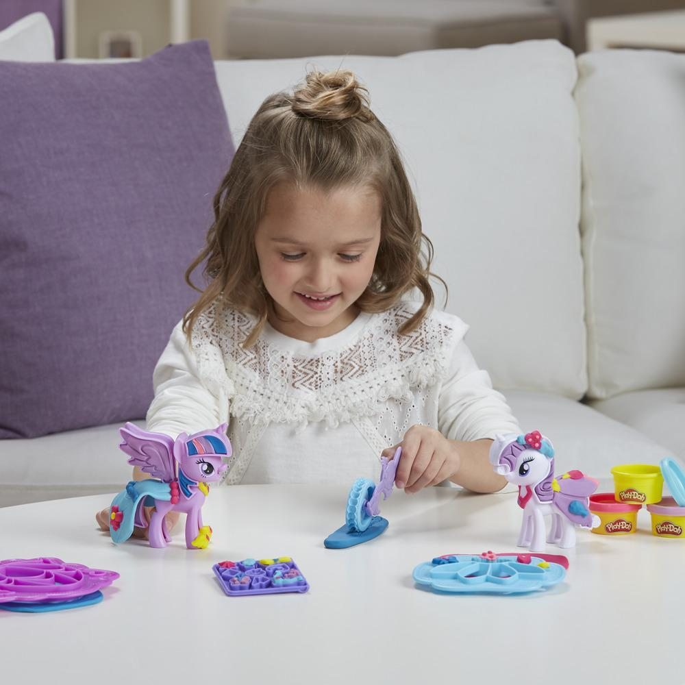 Play-Doh My Little Pony - Princesse Twilight Sparkle et Rarity Créations mode