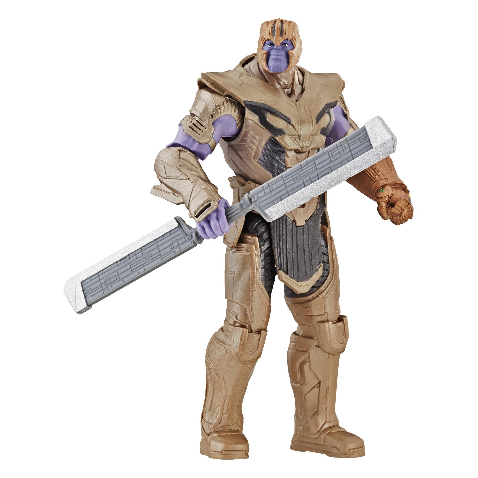 Marvel Avengers : Phase finale Figurine de guerrier Thanos de luxe tel que vu dans l'univers cinématographique de Marvel