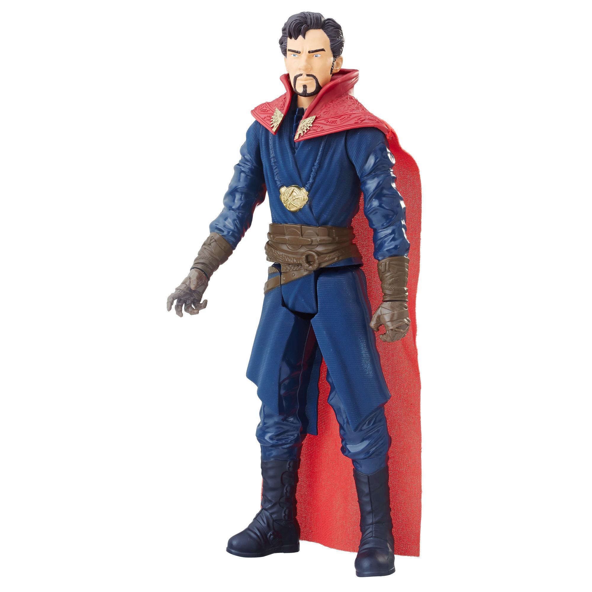 Marvel Avengers: La guerre de l'Infini - Titan Hero Series - Docteur Strange avec port Power FX