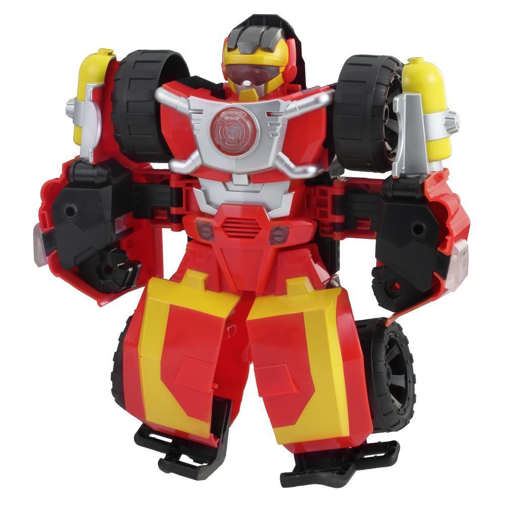 Playskool Heroes Transformers Académie Rescue Bots - Hot Shot électronique