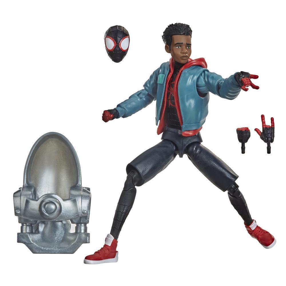 Hasbro Marvel Legends Series, Spider-Man : Dans le Spider-Verse, figurine articulée de collection Miles Morales de 15 cm