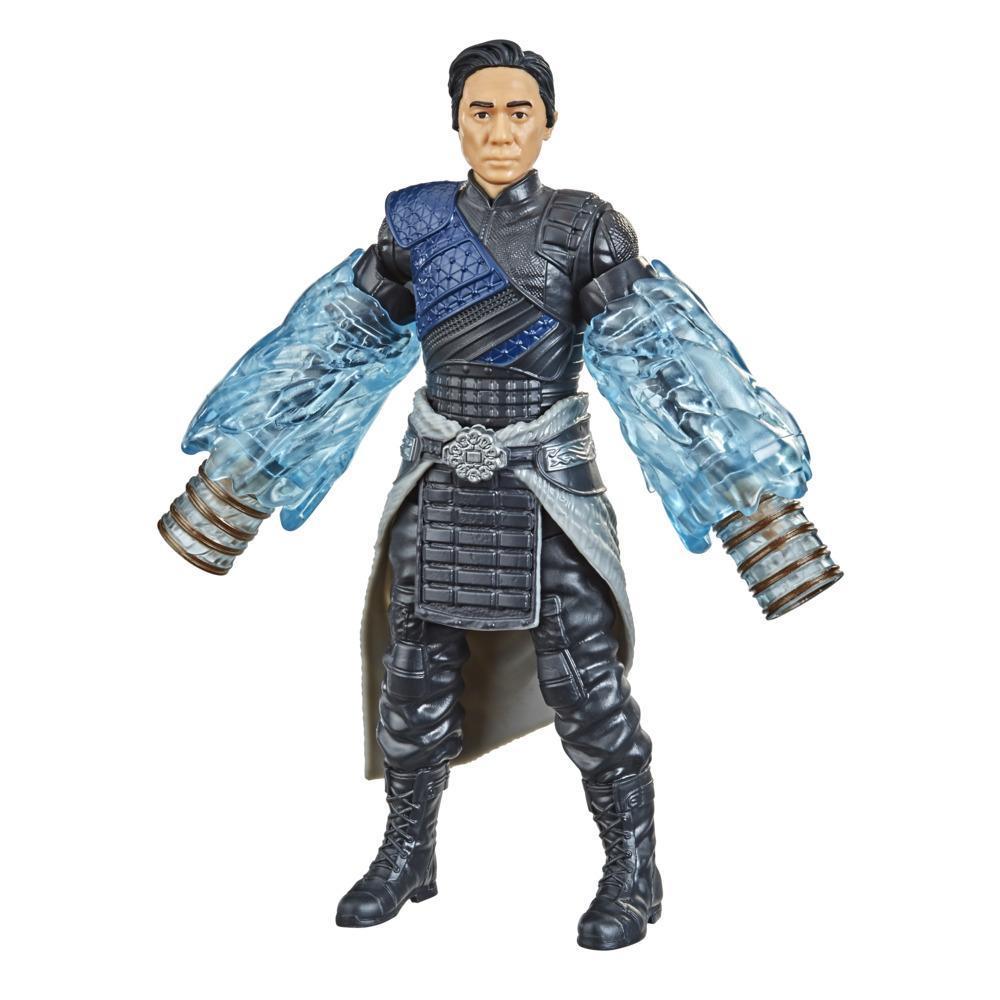 Marvel Shang-Chi And The Legend Of The Ten Rings, figurine Wenwu de 15 cm avec les Dix Anneaux, pour enfants, dès 4 ans
