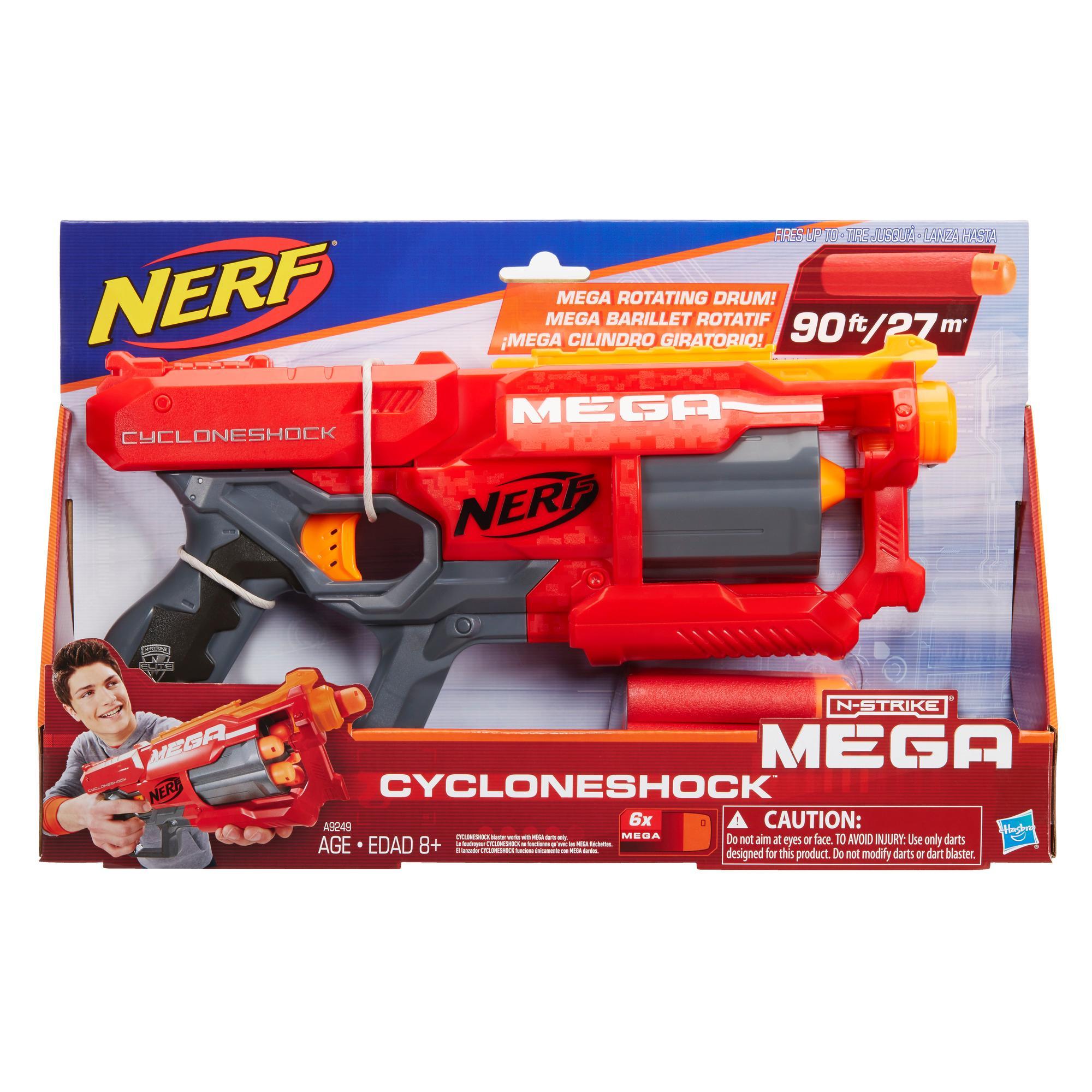Nerf N-Strike Elite Mega - Foudroyeur Mega CycloneShock