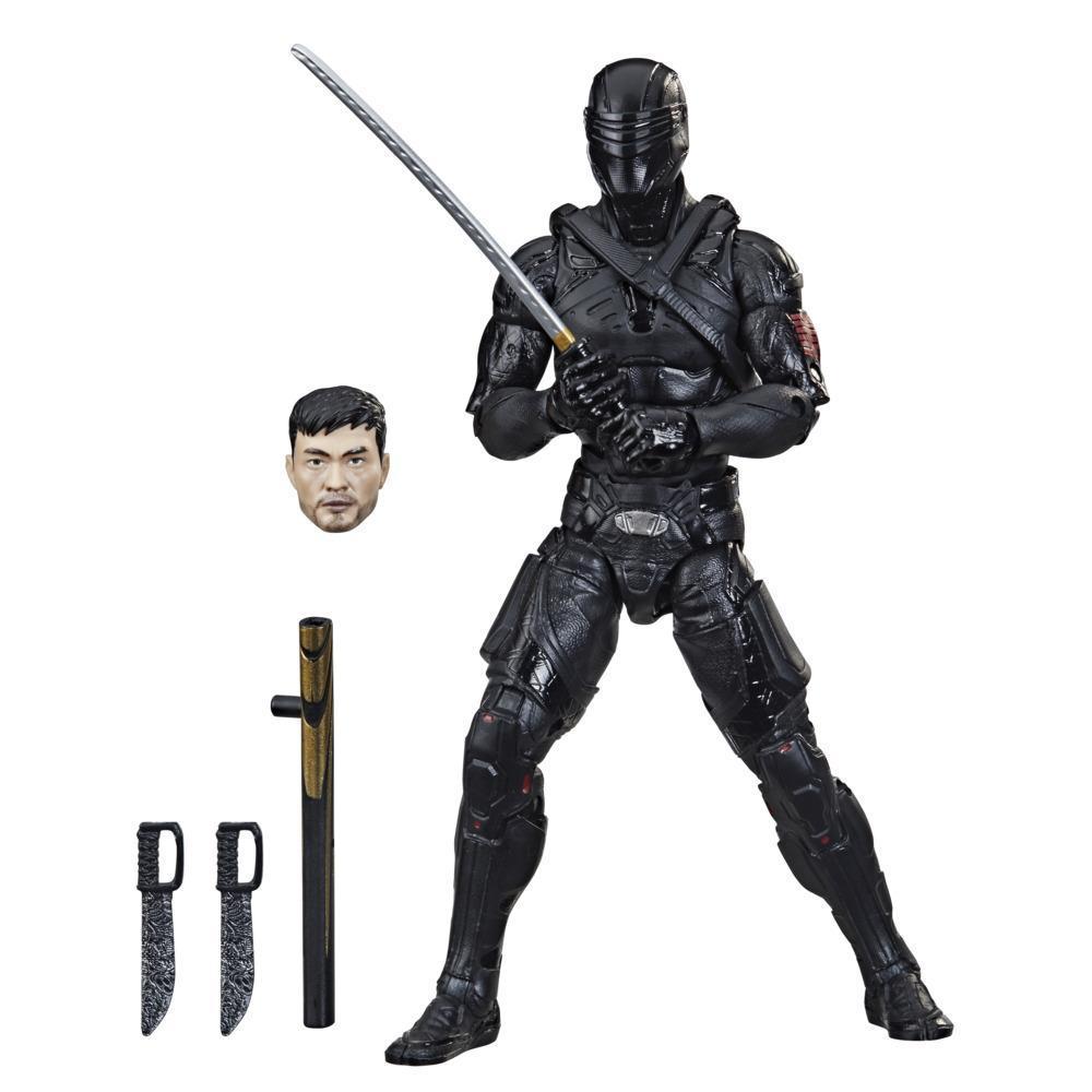 G.I. Joe Classified Series, Snake Eyes: G.I. Joe Origins, figurine Snake Eyes 16 de qualité de 15 cm, emballage personnalisé