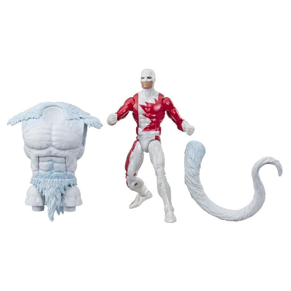 Série Marvel Legends de Hasbro, figurine articulée Marvel's Guardian de 15cm à collectionner (collection X-Men/X-Force) avec pièce Build-a-Figure de Wendigo