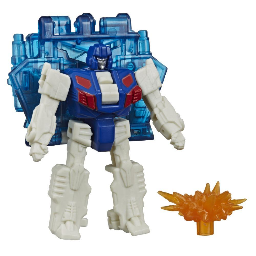 Transformers Generations War for Cybertron : Earthrise Battle Masters WFC-E1 Soundbarrier, 3,5 cm