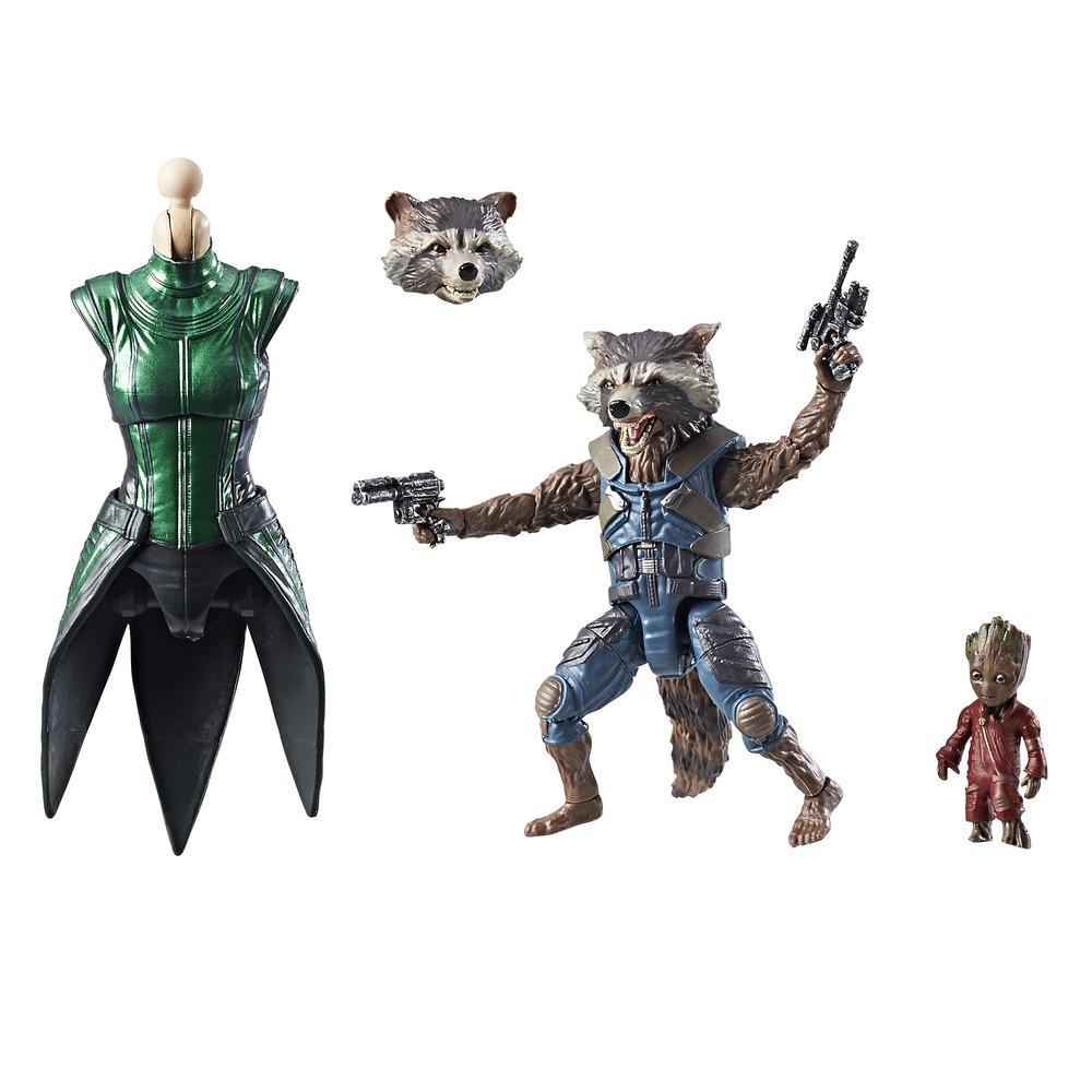 Marvel Guardians of the Galaxy Legends Series - Figurine Rocket Raccoon