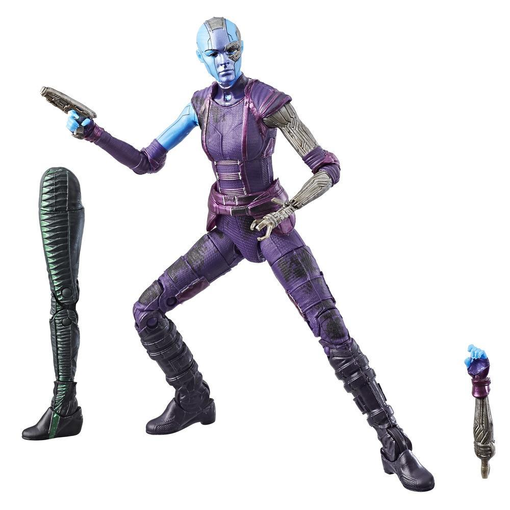 Marvel Guardians of the Galaxy Legends Series - Filles de Thanos - Figurine Marvel's Nebula