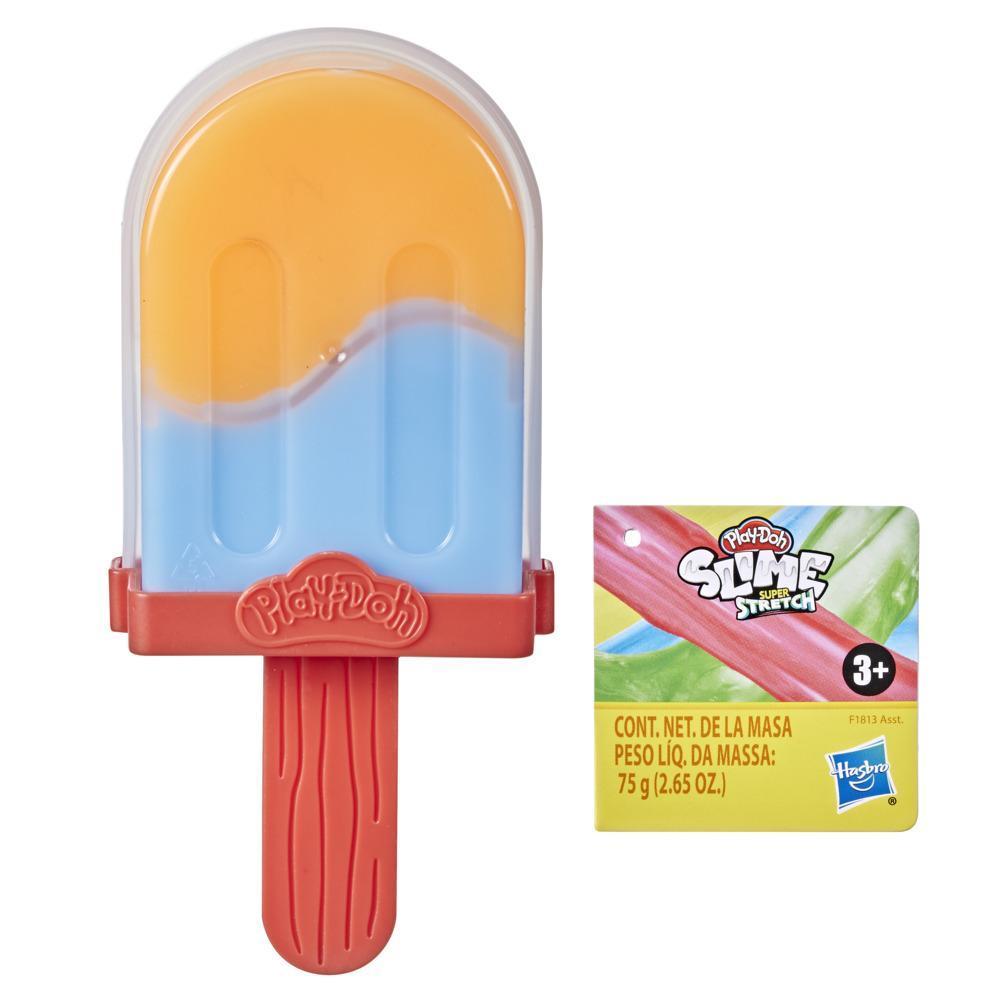 Pâte gluante Play-Doh Super Stretch, jouet en forme de glace, pour enfants, dès 3ans