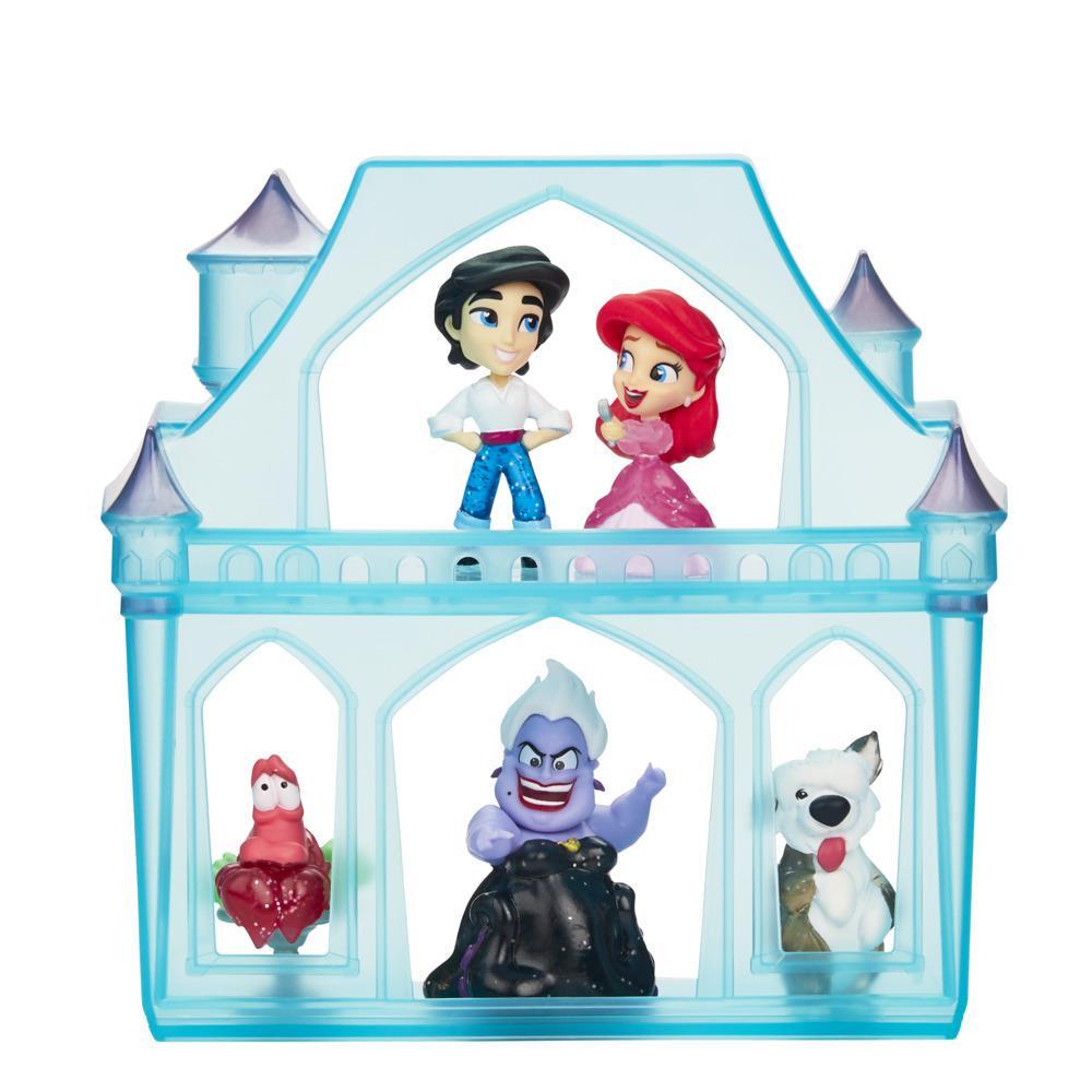 Disney Princess Comics, Aventures surprises d'Ariel, 5 poupées, accessoires et support, jouet à déballer, dès 3 ans