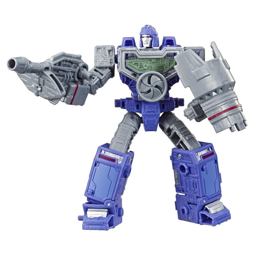 Jouets Transformers Generations War for Cybertron, figurine Weaponizer de luxe WFC-S36 Refraktor, gamme Siege, pour adultes et enfants de 8 ans et plus, 14 cm
