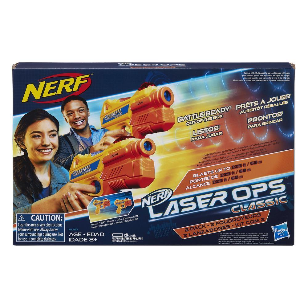 Nerf Laser Ops Classique - Duo de foudroyeurs Ion