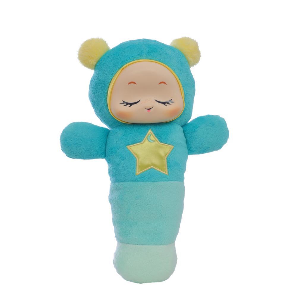 Playskool, Glo Worm, SmartSense, jouet apaisant avec détecteur de pleurs et enregistreur, nouveau-nés, bébés, tout-petits (exclusivité Amazon)
