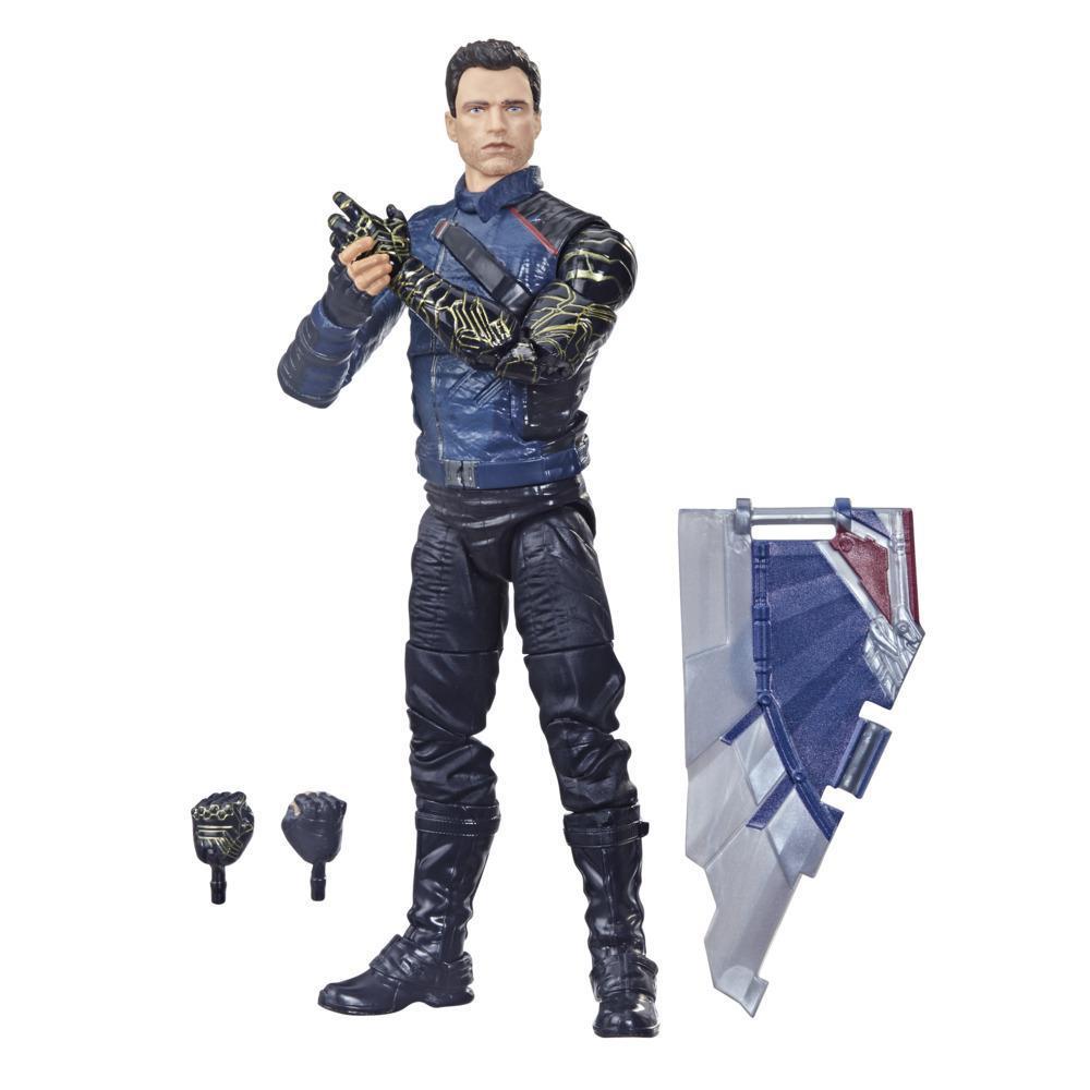 Hasbro Marvel Legends Series Avengers, figurine Winter Soldier de 15cm et 3accessoires, pour enfants, dès 4 ans