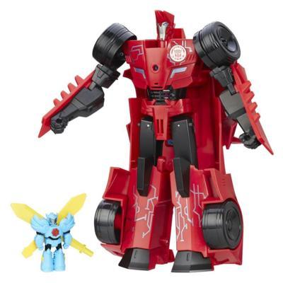 Transformers: Robots in Disguise - Sideswipe Déluge de puissance et Windstrike