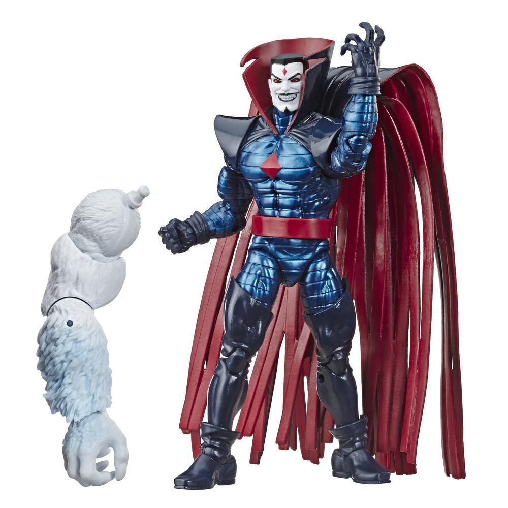 Série Marvel Legends de Hasbro, figurine articulée Mister Sinister de 15cm à collectionner (collection X-Men/X-Force) avec pièce Build-a-Figure de Wendigo