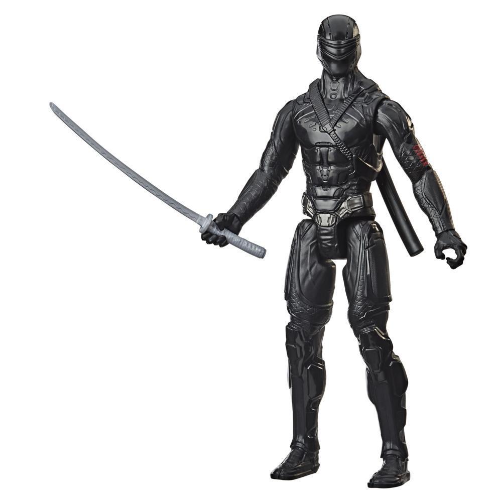 Snake Eyes: G.I. Joe Origins, figurine de collection Snake Eyes de 30 cm avec épée ninja, pour enfants à partir de 4 ans