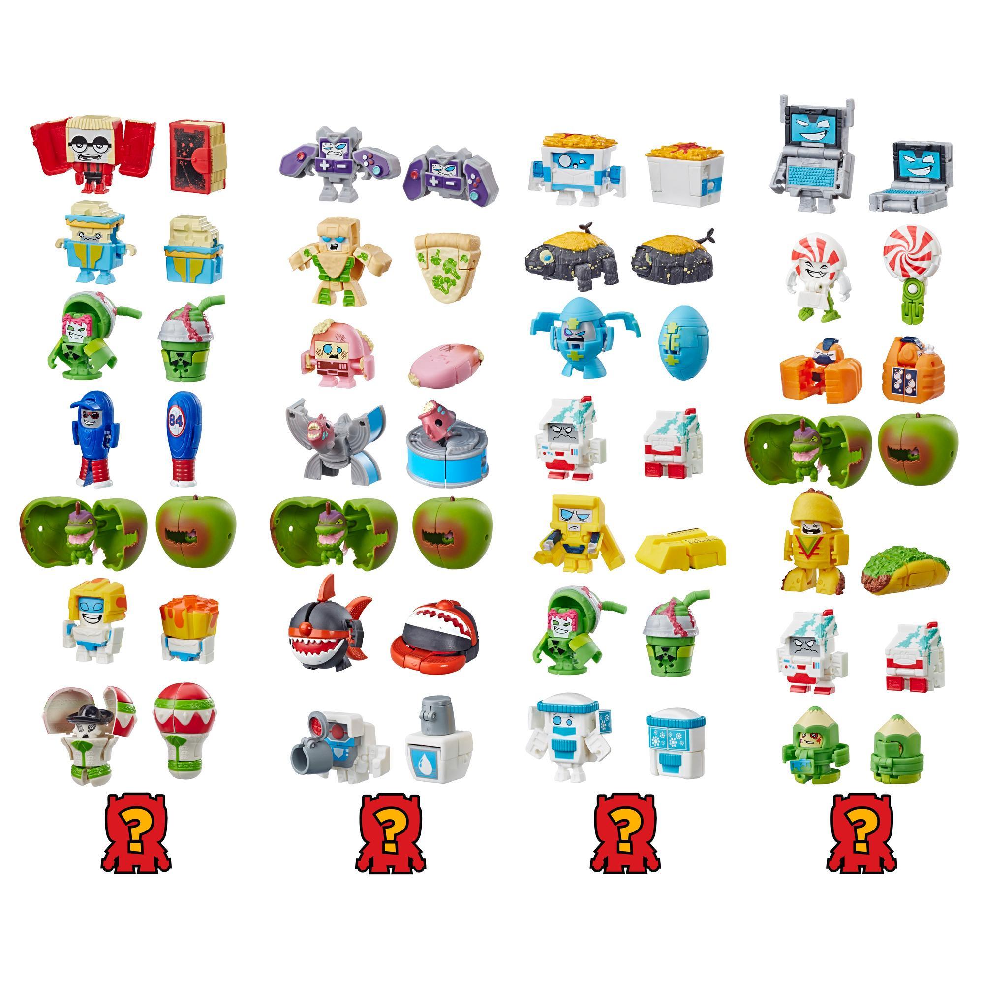 Jouet Transformers BotBots série 2 Ensemble de 8 des Gâtés pourris - Figurines mystères 2 en 1 à collectionner! Enfants de 5 ans et plus (le style et les couleurs peuvent varier) de Hasbro