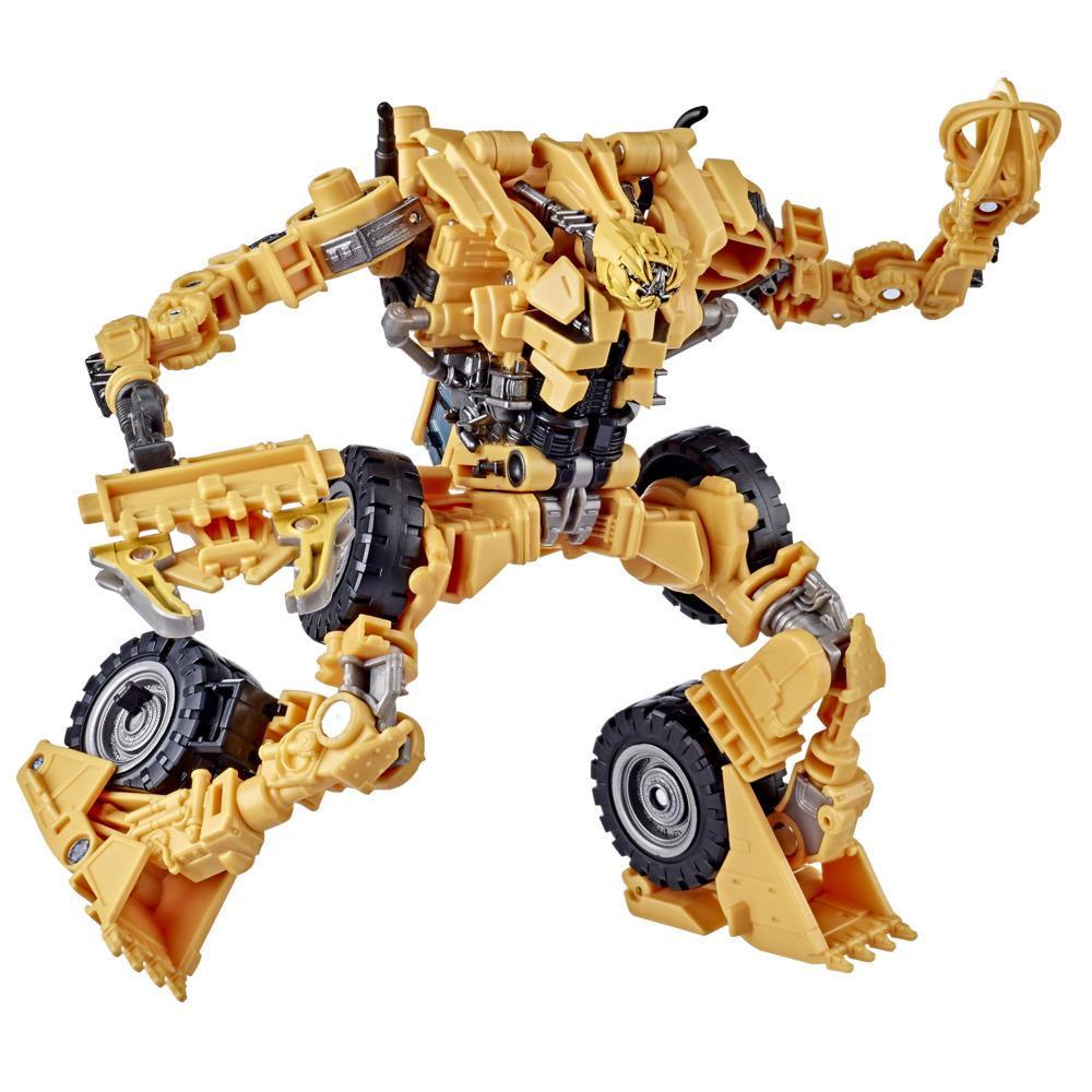 Transformers Jouet Studio Series 60 classe Voyageur, figurine Constructicon Scrapper de 16,5 cm du film La Revanche