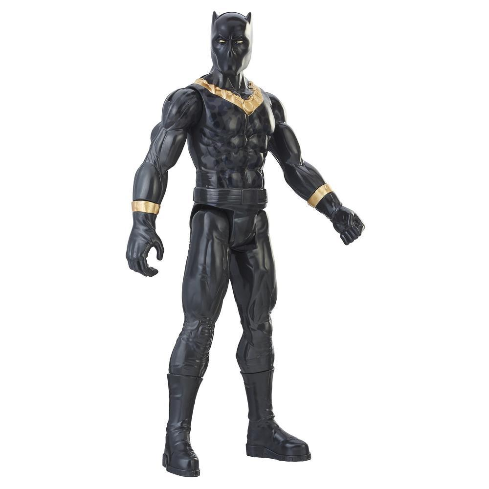 Marvel Black Panther Titan Hero Series - Figurine Erik Killmonger de 30 cm
