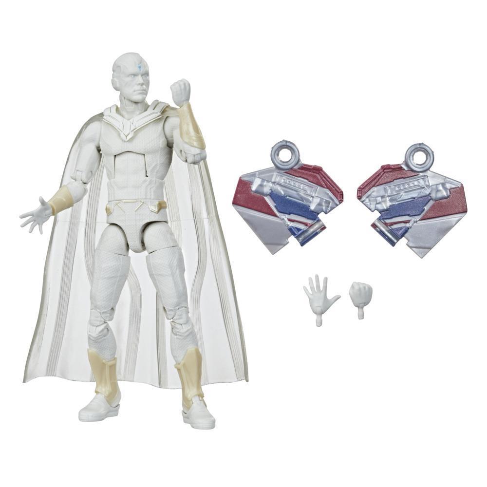 Hasbro Marvel Legends Series Avengers, figurine Vision de 15cm et 2accessoires, pour enfants, dès 4 ans