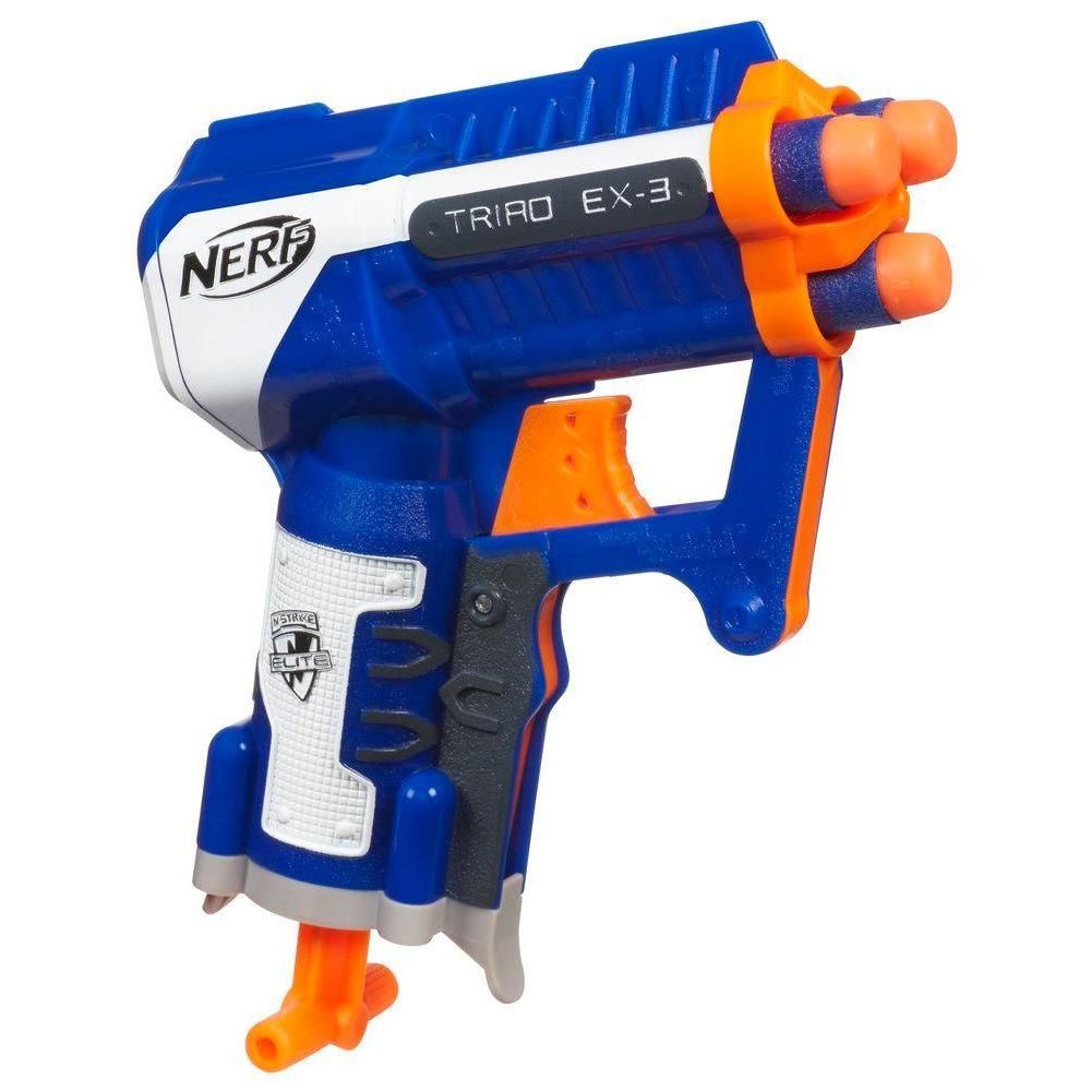 NERF N-STRIKE ELITE - Microfoudroyeur TRIAD EX-3