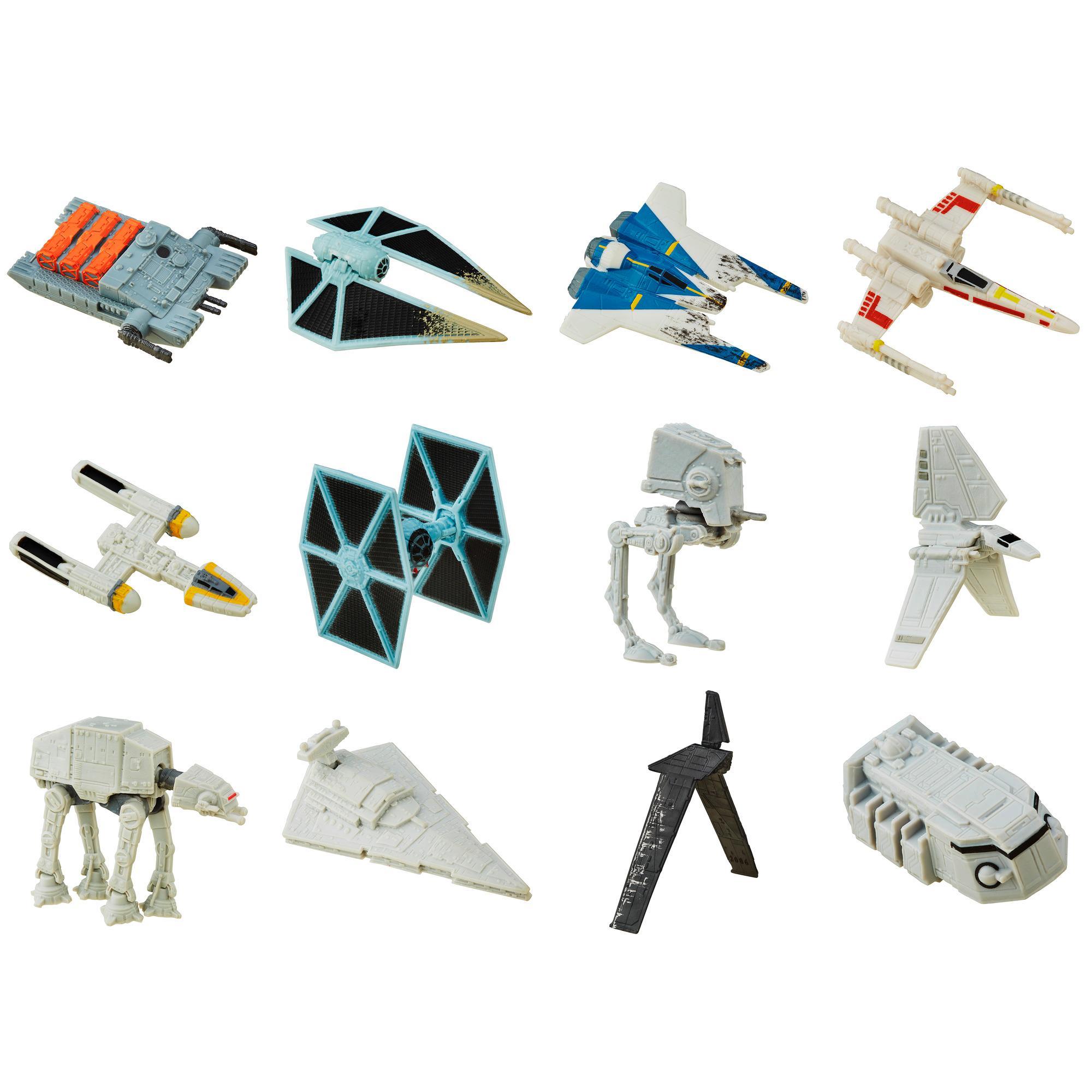 Star Wars Rogue One Micro Machines  - Sac surprise avec véhicule de la Série 6