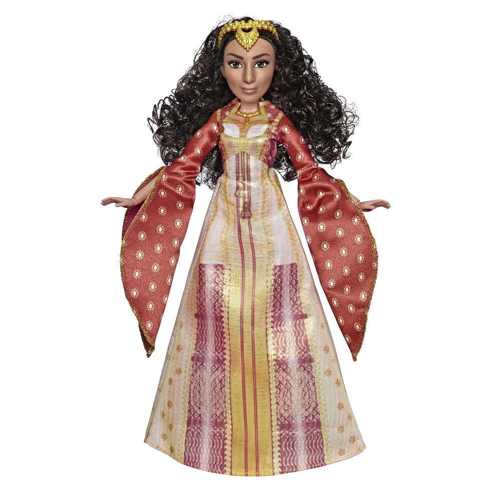 Disney - Poupée Dalia avec chaussures et accessoires inspirés du film Aladdin de Disney, jouet pour les enfants de 3 ans