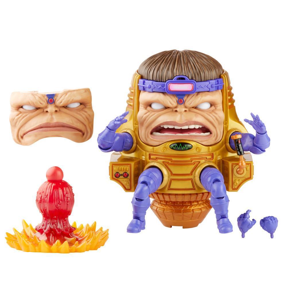 Hasbro Marvel Legends Series, figurine M.O.D.O.K. de 15cm et 4accessoires, pour fans, dès 4 ans