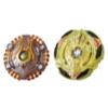 Beyblade Burst Turbo Slingshock - Duo Spiral Treptune T4 et Lava-X Anubion A4