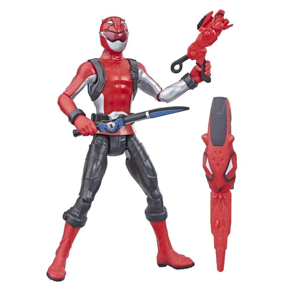 Power Rangers Beast Morphers - Figurine jouet de 15 cm Ranger rouge