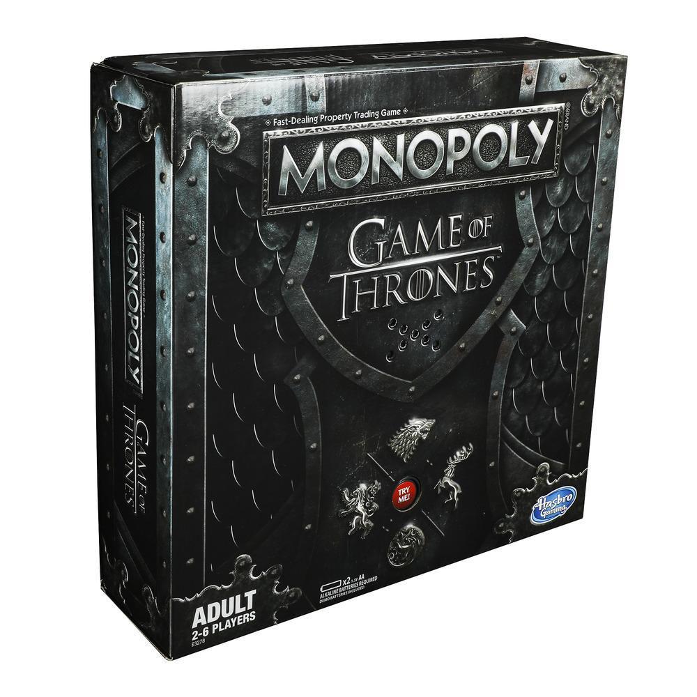 Jeu de plateau pour adultes, Monopoly Le Trône de fer